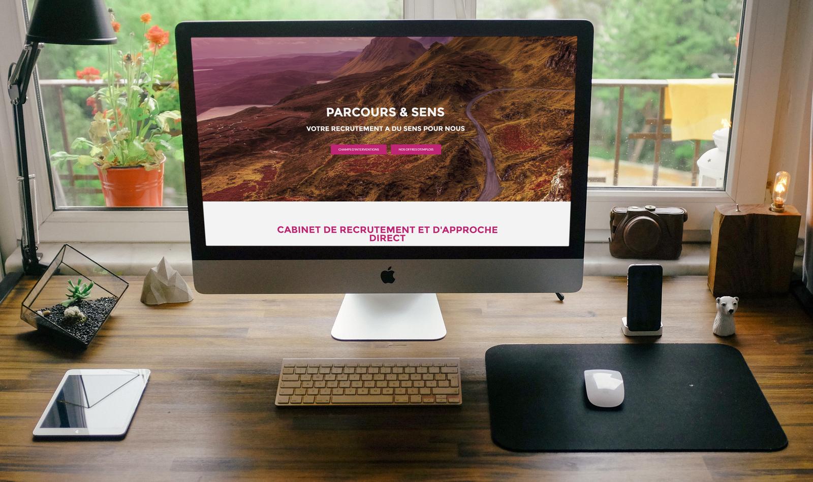 Parcours et sens - lancement du nouveau site internet