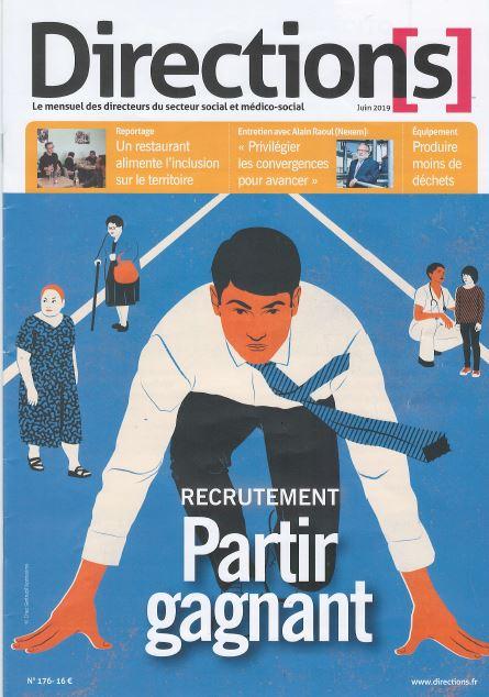 Parcours et sens - Recrutement-partir gagnant-publication magazine direction Juin 2019