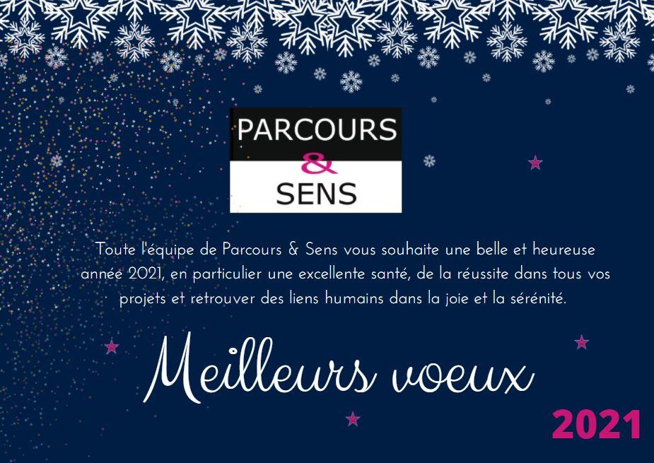 Carte de voeux Parcours & Sens 2021